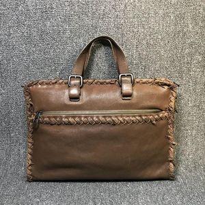 Bottega Veneta 葆蝶家女士深棕色手提包