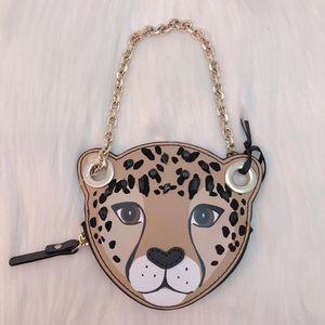 Kate Spade 凯特·丝蓓限量小豹子手拿包
