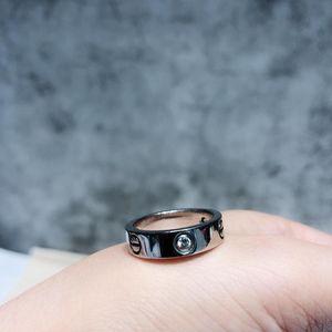 Cartier 卡地亚白金三钻宽版LOVE戒指