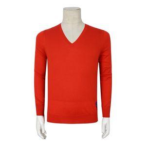 Alexander McQueen 亚历山大·麦昆红色山羊绒衫长袖