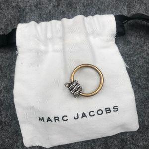Marc Jacobs马克雅各布蛇形做旧款戒指