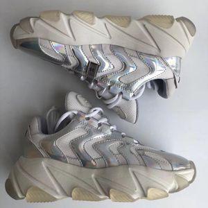 ASH Shoes 艾熙女士炫彩厚底运动鞋