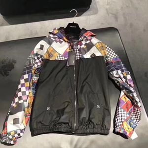 Versace 范思哲男士拼色外套