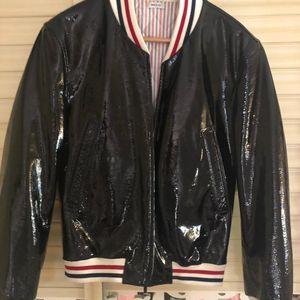 Thom Browne 汤姆·布朗棒球服皮夹克