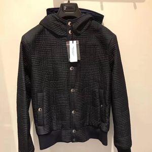Versace 范思哲男士黑色棉服