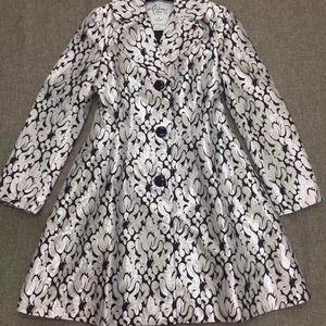 Kate Spade 凯特·丝蓓特制料烫银线长袖外套