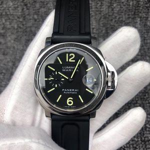 Panerai 沛纳海LUMINOR系列精钢自动机械男士腕表