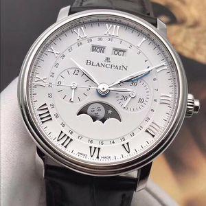 Blancpain 宝珀经典系列6685-1127-55B男士自动机械腕表