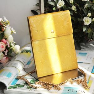 Louis Vuitton 路易·威登DJ11224黄漆皮信封包
