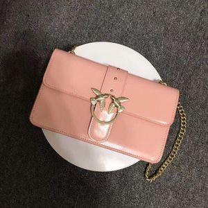 PINKO 品高粉色燕子包