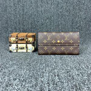 Louis Vuitton 路易·威登老花vintage长款钱包