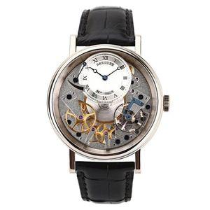 Breguet 宝玑传世系列7057BB/11/9W6男士手动机械腕表