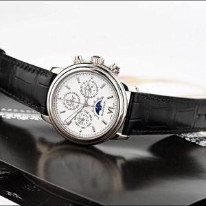 Blancpain 宝珀领袖系列男士自动机械腕表