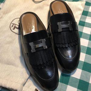 Hermès 爱马女士穆勒鞋
