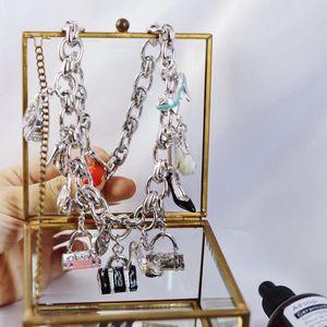 Versace 范思哲限量典藏版彩釉衣橱系列项链