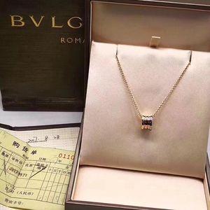 BVLGARI 宝格丽三色金项链
