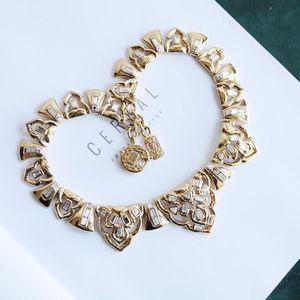 Yves Saint Laurent 伊夫·圣罗兰XL11231重金视觉系巴黎时装走秀必备款复古富贵项链锁骨