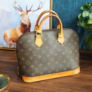 Louis Vuitton 路易·威登ST08167经典老花中古包贝壳包手提包