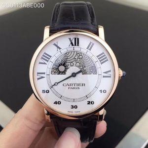 Cartier 卡地亚神秘时间系列WHRO0042男士机械表