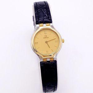 OMEGA 欧米茄碟飞系列复古款石英女士手表