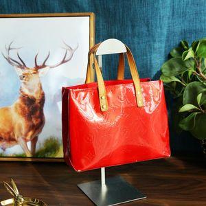 Louis Vuitton 路易·威登番茄红漆皮手提包