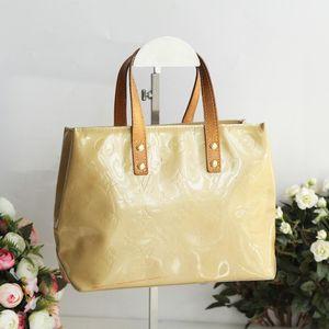 Louis Vuitton 路易.威登燕麦珠光漆皮小号手提包