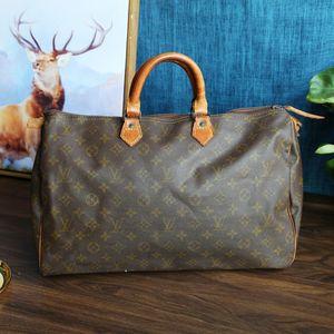 Louis Vuitton 路易·威登ST08141老花speey旅行手提包