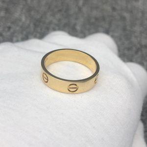 Cartier 卡地亚LOVE戒指黄金色