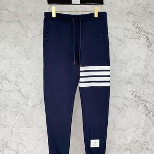 Thom Browne 汤姆·布朗4条纹藏蓝运动长裤