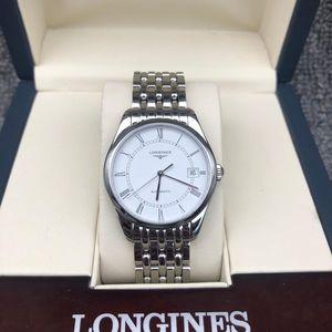LONGINES 浪琴雅致系列L4.898.4.11.6男士自动机械腕表