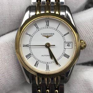 LONGINES 浪琴优雅系列L4.397.3.11.7女士自动机械腕表