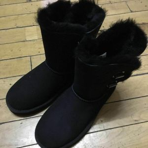 UGG 全新雪地靴36黑色