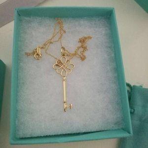 Tiffany & Co. 蒂芙尼中国结钥匙项链