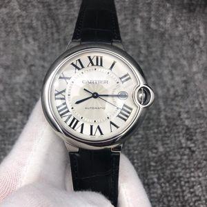 Cartier 卡地亚蓝气球系列W69016Z4男士自动机械手表