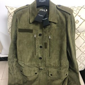 Yves Saint Laurent 伊夫·圣罗兰羔羊皮衣