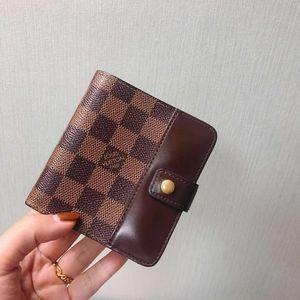 Louis Vuitton 路易·威登棋盘格短款钱夹