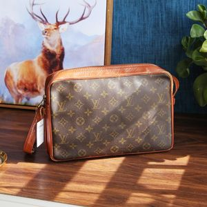 Louis Vuitton 路易·威登DJ04022老花中古经典款手拿包单肩包斜跨包