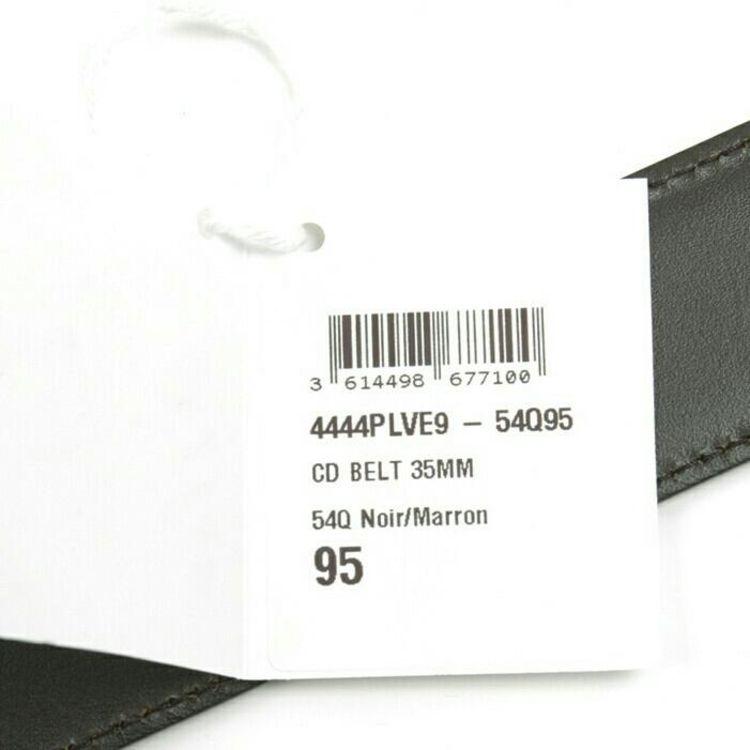 Dior 迪奥男士CD真皮2面用皮带简约腰带