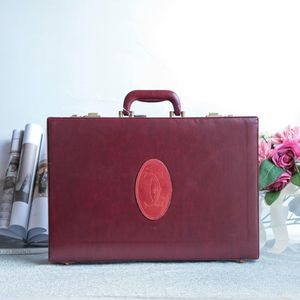 Cartier 卡地亚LX10035经典莓红色手套箱旅行箱