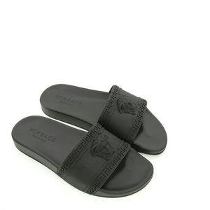 Versace 范思哲男士美杜莎一字拖鞋