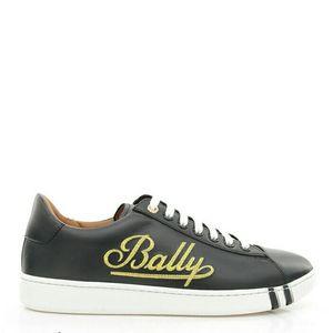 BALLY 巴利男士金线刺绣低帮休闲鞋