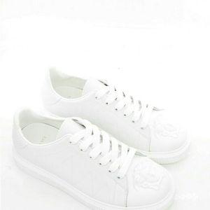 Versace 范思哲美杜莎男士真皮小白鞋休闲鞋