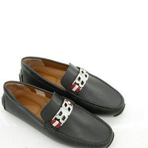 BALLY 巴利男士真皮开车鞋低帮休闲鞋