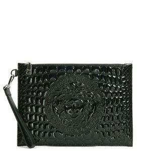 Versace 范思哲美杜莎漆皮手拿包