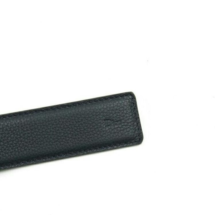 Dior 迪奥男士CD真皮2面用腰带皮带