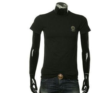 Versace 范思哲美杜莎百搭打底修身弹力男士短袖T恤