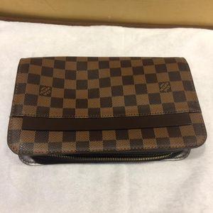 Louis Vuitton 路易·威登棋盘格手包