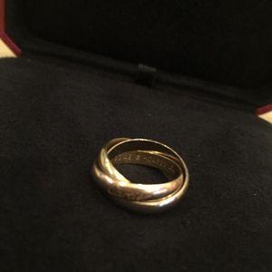 Cartier 卡地亚三环戒指