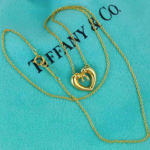 Tiffany & Co. 蒂芙尼绝版爱心蝴蝶结项链