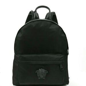 Versace 范思哲男士美杜莎尼龙双肩包背包